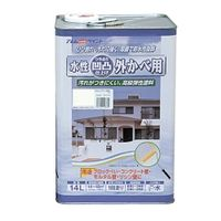 アトムサポート(アトムハウスペイント) 凹凸外かべ用塗料 14L ミルキーホワイト 4971544158365 1缶(14000mL)(直送品)