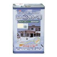 アトムサポート(アトムハウスペイント) 凹凸外かべ用塗料 14L アイボリー 4971544158372 1缶(14000mL)(直送品)