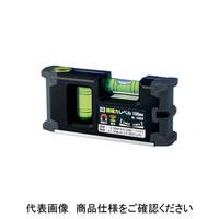 新潟精機 水平器・水準器 平型レベル 超磁力レベル ML-100KB 1台 (直送品)