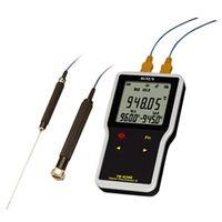 FUSO 温湿度計 防水型デジタル2点式温度計 TK-6200A 1個 (直送品)