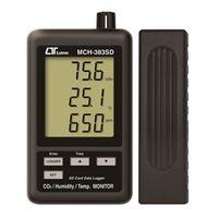 FUSO 環境測定器 SDカード付CO2濃度計 MCH-383SD 1個 (直送品)