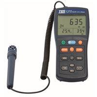 FUSO 環境測定器 データロガーCO2測定器 TES-1370 1個(直送品)
