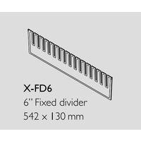 アズワン 救急カート[LUXE]用 仕切板(中段用・横) X-FD6 1セット(3枚) 8-1341-16 ナビスカタログ(直送品)