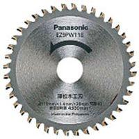パナソニック Panasonic パワーカッター用替刃 薄板木工刃 直径110mm EZ9PW11B (直送品)