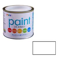 アサヒペン AP 水性多用途EX 1/5L 白 as103 (直送品)