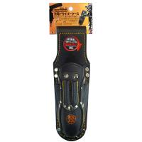 三共コーポレーション 玄人職人 黒革 ペン型充電DVケース KSK-15 (直送品)