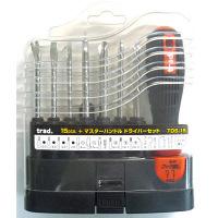 三共コーポレーション TRAD ドライバーセット(ハンドル付) TDS-15 (直送品)