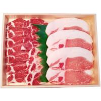 石垣島 やえやまファーム 南ぬ豚 焼肉用ロースセット 400g (直送品)