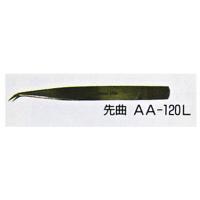 三共コーポレーション H&H ステンピンセット(曲) 120mm (直送品)