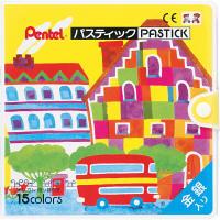 ぺんてる パスティック 15色 GC1ー15 (直送品)