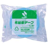 ニチバン 布粘着テープ ライトブルー 102N20ー50 1巻 (直送品)