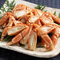 北海道産ボイル毛蟹脚肉