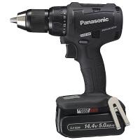 パナソニック Panasonic 充電振動ドリル&ドライバー 14.4V 5.0Ah ブラック EZ79A2LJ2F-B (直送品)