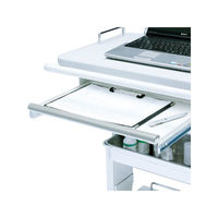 サンワサプライ RAC-HP9SCN用スライダー棚(W450×D366mm) ワゴン関連品 RAC-HP9STN (直送品)