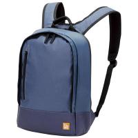 エレコム バックパック コンパクトタイプ ネイビー ビジネスバッグ BM-BP01NV (直送品)