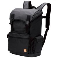 エレコム バックパック フラップタイプ ブラック ビジネスバッグ BM-BP02BK (直送品)