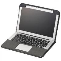 エレコム MacBook Air用ファブリックカバー キャリングバッグ MB-A13FCBK (直送品)