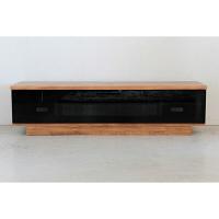 TVボード ミドルブラウン 幅1400×奥行400×高さ361mm 50538280 東馬 (直送品)