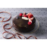【クリスマス・数量限定】銀座千疋屋 ベリーのチョコレートケーキ 【予約販売】 (直送品)【LOHACO販売品】