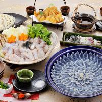 ふく太郎本部 ふく料理にぎわいフルコース(4人前) (直送品)