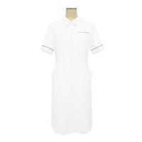 大真 裏地付き透けない白衣 ワンピース NS200 シャンパンゴールド L 医療白衣 1枚 (直送品)