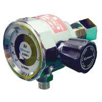 ユタカ 中流量用減圧機構付円形流量計(バルブ内蔵)二酸化炭素用 DN-L-50L-CO2-V 1個 (直送品)
