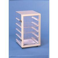 コクゴ 乾燥剤タイプ デシケーター 予備棚板 H-1型用 (アクリル) 101-01804 1セット(3枚入) (直送品)
