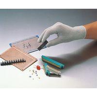 コクゴ 静電手袋 制電フィット手袋 S 104-08601 1セット(3双入)(直送品)