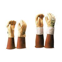 コクゴ 合成皮革手袋 保護革手袋 甲部メッシュ付 大 104-97302 1双(直送品)