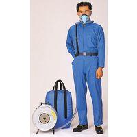 コクゴ 防塵マスク サカヰ式1号 D-B型 半面D型面体2本蛇管バッグ収納式 104-49002 1個(直送品)