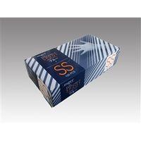 宇都宮製作 使い捨てビニール手袋 プラスチックグローブSP201 PF ブルー SS1箱100枚入 D152SS(直送品)