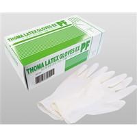 宇都宮製作 クリーンルーム用手袋 トーマラテックスグローブEX PF L1箱100枚入 E102L 1セット(2000枚:100枚入×20箱) (直送品)