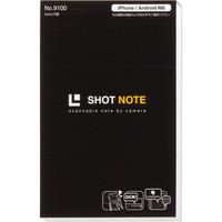 キングジム ショットノート Sサイズ 黒 9100クロ 1冊 (直送品)