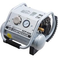 ナカトミ オイルレスコンプレッサー タンク容量4L SCP-04A (直送品)
