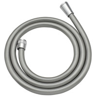 カクダイ これカモ シャワーホース 取替用 2.0m (アダプター付 ほとんどのメーカーに対応 シルバー) GA-FF025
