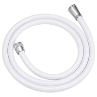 これカモ シャワーホース 取替用 1.9m(アダプター付 ほとんどのメーカーに対応 ホワイト)GA-FK010 (直送品)