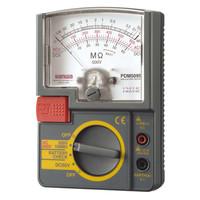 単レンジ式アナログ絶縁抵抗計 PDM509S 三和電気計器 (直送品)