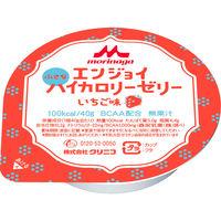エンジョイ小さなハイカロリーゼリー いちご味 651849 1箱(24個) クリニコ (直送品)