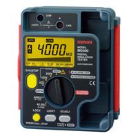 デジタル3レンジ式絶縁抵抗計 MG500 三和電気計器 (直送品)