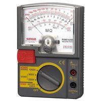 3レンジ式アナログ絶縁抵抗計 PDM1529S 三和電気計器 (直送品)