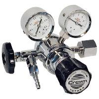 ユタカ 計測機器 ボンベ取付型ニ段式圧力調整器 FR-IIS-OP 1個 (直送品)