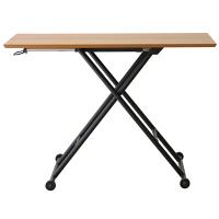 あずま工芸 Logica(ロジカ) リフティングテーブル ナチュラル オーク 幅1000×奥行480×高さ110~700mm (直送品)