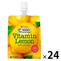 C1000 ビタミンレモンゼリー 1セット(24個入) ハウスウェルネスフーズ 栄養補助ゼリー