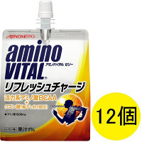 アミノバイタルゼリー リフレッシュチャージ 1セット(180g×12個) 味の素 アミノ酸ゼリー