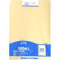 マルアイ クラフト封筒 角3 70G 100枚入 PK-137 郵便枠印刷なし (直送品)
