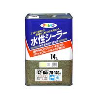 アサヒペン AP 水性シーラー 14L ライトレモン 9010566 (直送品)