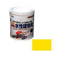 アサヒペン AP 水性建物用 1.6L 黄色 9011242 (直送品)