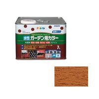 アサヒペン AP 水性ガーデン用カラー 7L ライトオーク 9011564 (直送品)
