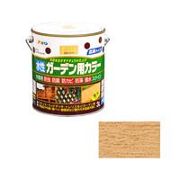 アサヒペン AP 水性ガーデン用カラー 3L 透明(クリヤ) 9011566 (直送品)