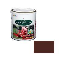 アサヒペン AP 水性ガーデンペイント 1.6L チョコレート 9011678 (直送品)